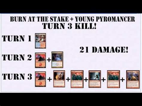 Guttersnipe Pyromancer Deck by Pyromancer Burn At The Stake Combo Possible Turn