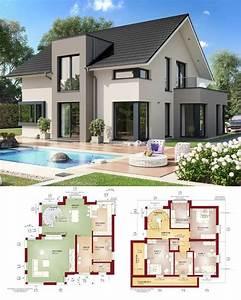 Modernes Haus Mit Satteldach : fertighaus concept m 159 bien zenker modernes haus mit satteldach house plans in 2018 ~ Orissabook.com Haus und Dekorationen