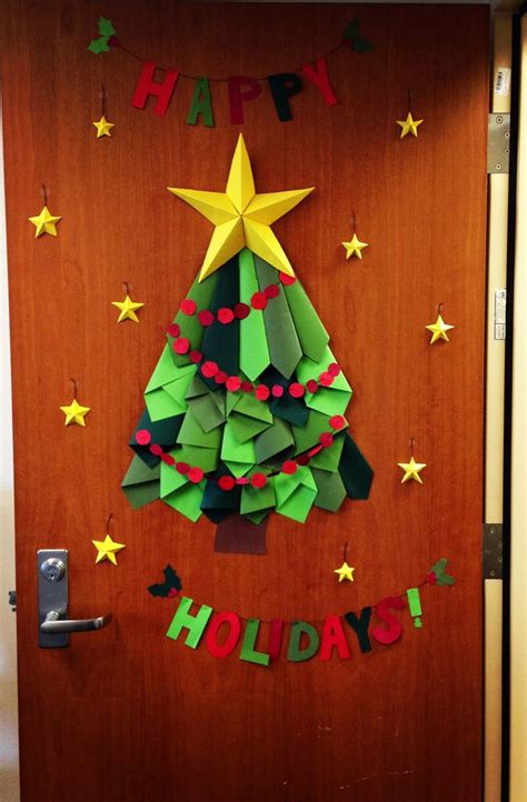 diy christmas tree classroom door decorations contest a smith of all trades