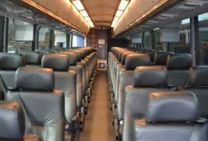 Luxury Charter Buses Interior