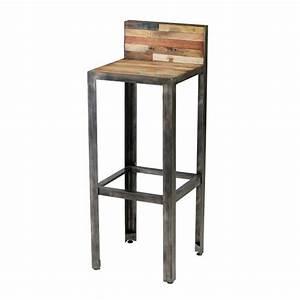 Tabouret De Bar Industriel Pas Cher : fauteuil de bar pas cher mobilier design d coration d 39 int rieur ~ Teatrodelosmanantiales.com Idées de Décoration