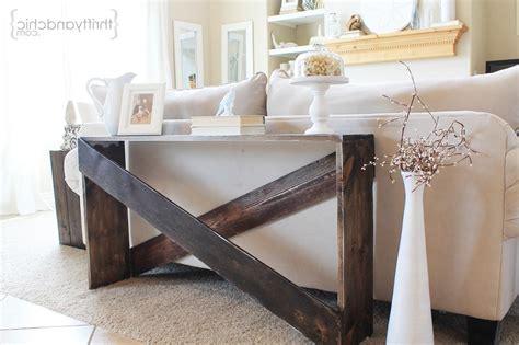 Perfect Ideas Behind Sofa Bar Table Stefan Abrams