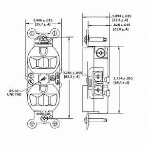 hubbellr 5262w duplex traditional straight blade With hubbel wiring