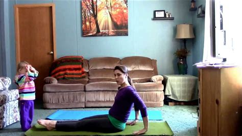 "Living Room Yoga  A ""no Excuse"" Practice (mommy And"