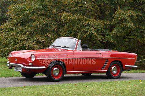renault floride sold renault floride convertible auctions lot 1 shannons