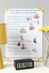 Regle De Vie A La Maison : c 39 est important que les enfants soient impliqu s parce que ~ Dailycaller-alerts.com Idées de Décoration