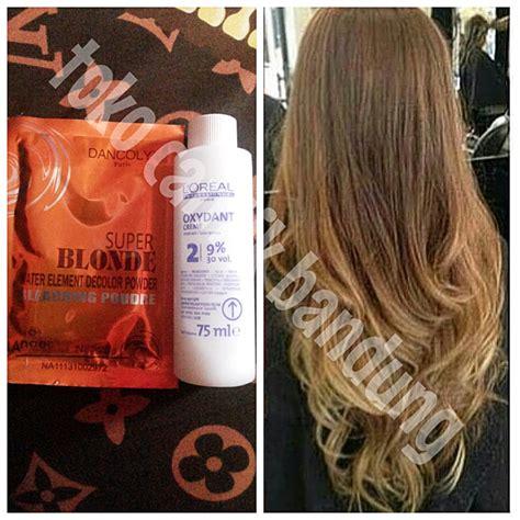 jual bleaching rambut bleaching hair toko cantik
