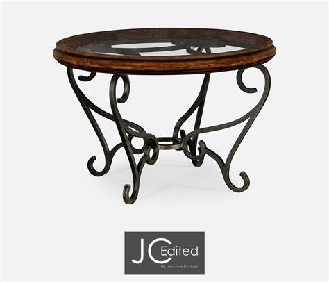 rustic wrought iron table ls rustic end tables with wrought iron medium size of coffee