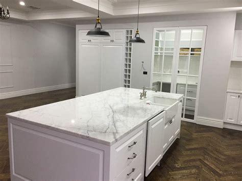 Thassos Marble Kitchen