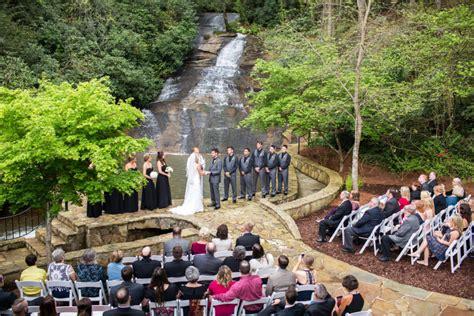 mountain wedding venue  north georgia chota falls estate