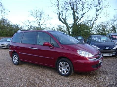 peugeot for sale uk used peugeot 807 2006 red colour diesel 2 0 hdi 136