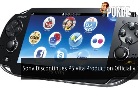 sony discontinues ps vita production officially pokde