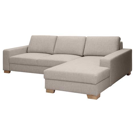 canapé avec meridienne ikea sörvallen canapé 3 places avec méridienne droite tenö
