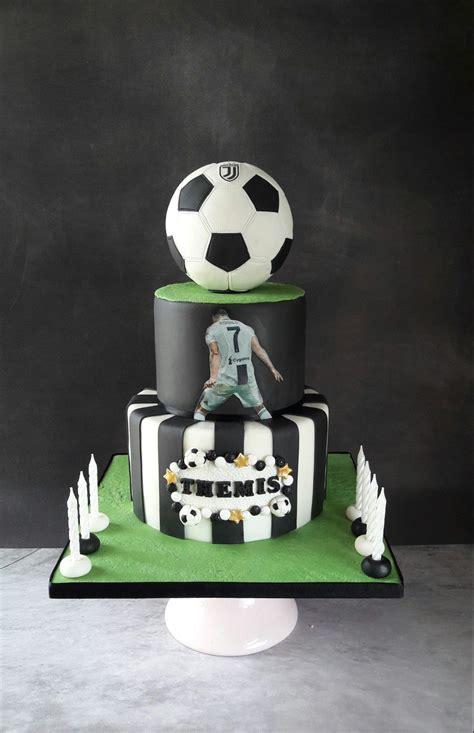 Ronaldo Juventus football cake. | Feste a tema calcio ...