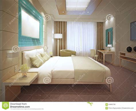 tendance chambre a coucher tendance élégante de chambre à coucher principale photo
