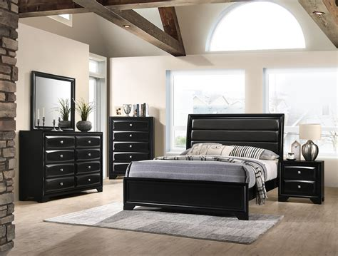 monte carlo black bedroom set furniture distribution center