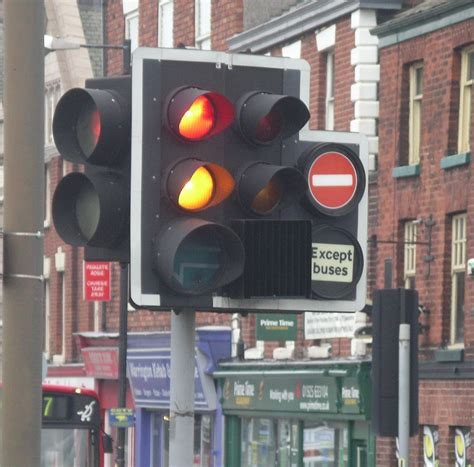 traffic lights   buses cycles  taxis sabre