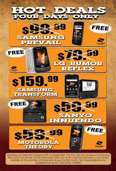 boost mobile phone activation free boost mobile phones with new activation starting