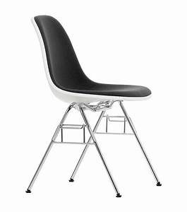Eames Plastic Side Chair : eames plastic side chair dss n with uphlostery vitra milia shop ~ Frokenaadalensverden.com Haus und Dekorationen