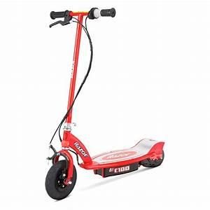 Razor® 13111260 - E100 Red Electric Scooter