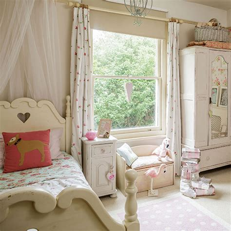 neutral shabby chic girls bedroom decorating ideal home