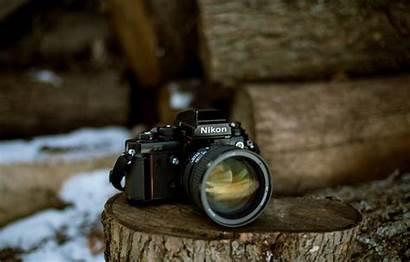 Nikon F3 Camera Background Makro Kamera Macro