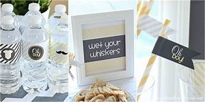 Gray & Yellow Baby Shower Decorating Ideas - Love of