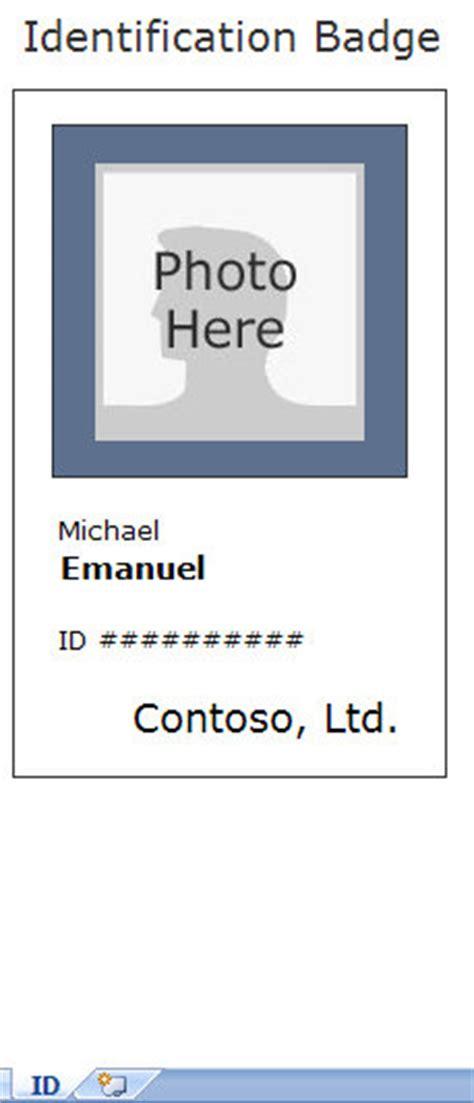 employee identification card template employee id cards