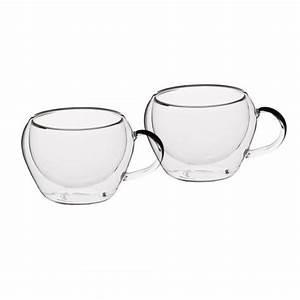 Tasse En Verre : tasse caf double paroi 8cl x2 le xpress ~ Teatrodelosmanantiales.com Idées de Décoration