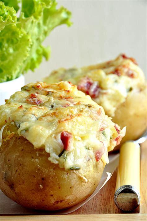 recette de cuisine avec pomme de terre pommes de terre au four gratinées au comté recette
