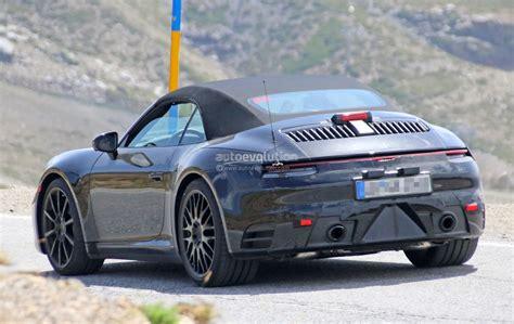 Spyshots 2019 Porsche 911 Shows Muffler Design, Hints At