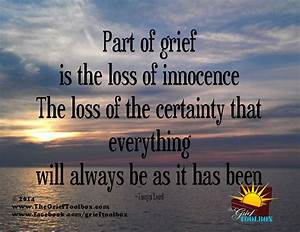 Loss of Innocence - A Poem | The Grief Toolbox