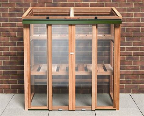 ft   ft  growhouse cedar wooden upright coldframe