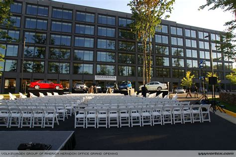 volkswagen group headquarters volkswagen grand opening of their new us headquarter in