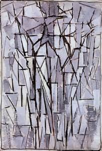 Piet Mondrian Tree Paintings