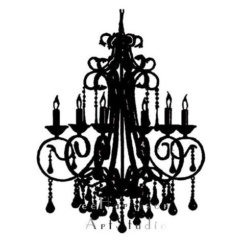 Black And White Chandelier Bedding by Modern Print Chandelier Silhouette Black And White
