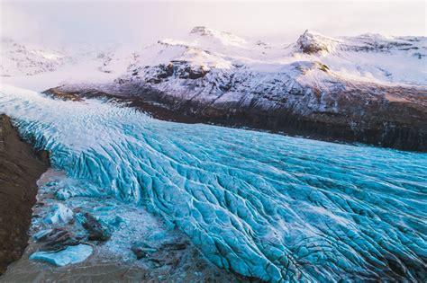 vatnajoekull glacier dronestagram
