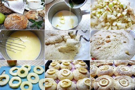 Neparastas bulciņas ar āboliem un bumbieriem | Food ...
