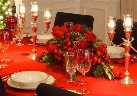 Elegant Christmas Table Decorations For 2016