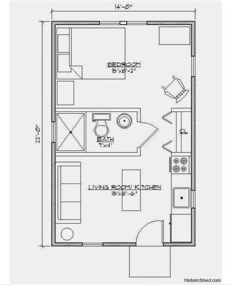 small house   bedroom tiny house floor plans