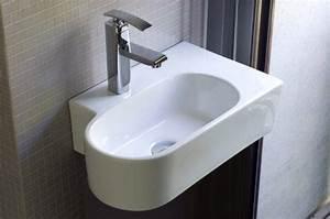 Handwaschbecken Kleines Gäste Wc : handwaschbecken f r kleine badezimmer g ste wc toiletten wei es rundes ovales g stewaschbecken ~ Eleganceandgraceweddings.com Haus und Dekorationen