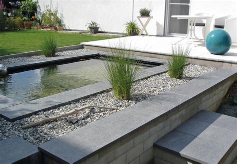 Architeknisches Teichbecken Im Garten Wasserbecken Gfk
