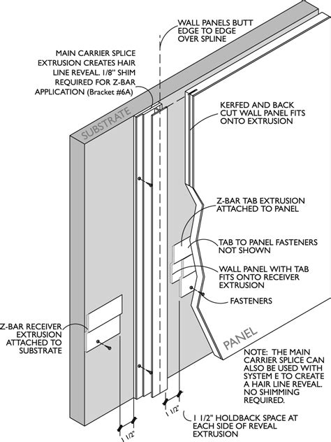 """System """"Z"""" – Z-Bar Installation – Gage Architectural Products"""