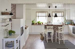 Deco Cuisine Ikea : 45 cuisines ikea parfaitement bien con ues des id es ~ Teatrodelosmanantiales.com Idées de Décoration