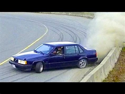 daily driven volvo  turbo drift car  swed sled