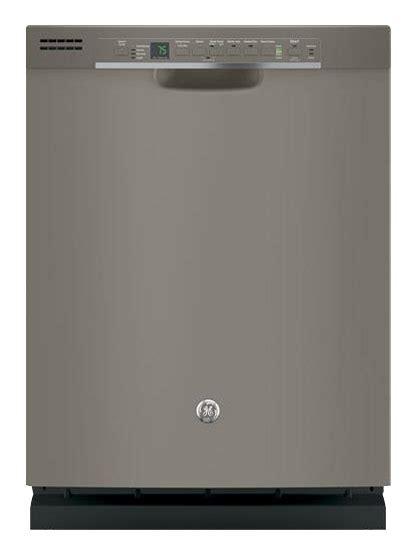 buy ge  front control tall tub built  dishwasher slate gdfpmjes