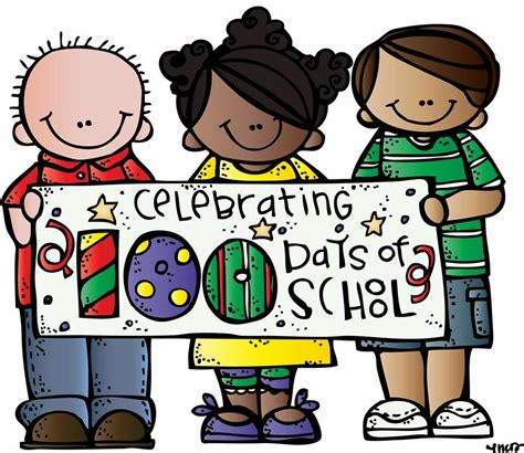 Free 100 Days Of School Clipart Clipground