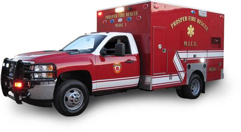 Custom Emergency Medical Service Vehicles