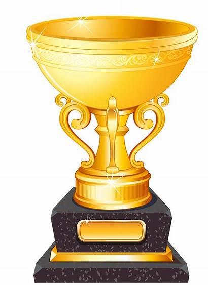 Trophy Cup Clipart Golden Medals Transparent Yopriceville