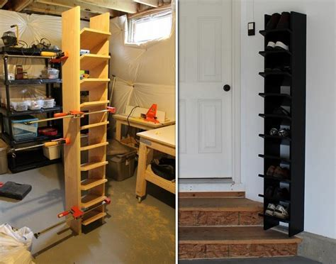 Diy Garage Shoe Organizer  Diy Cozy Home